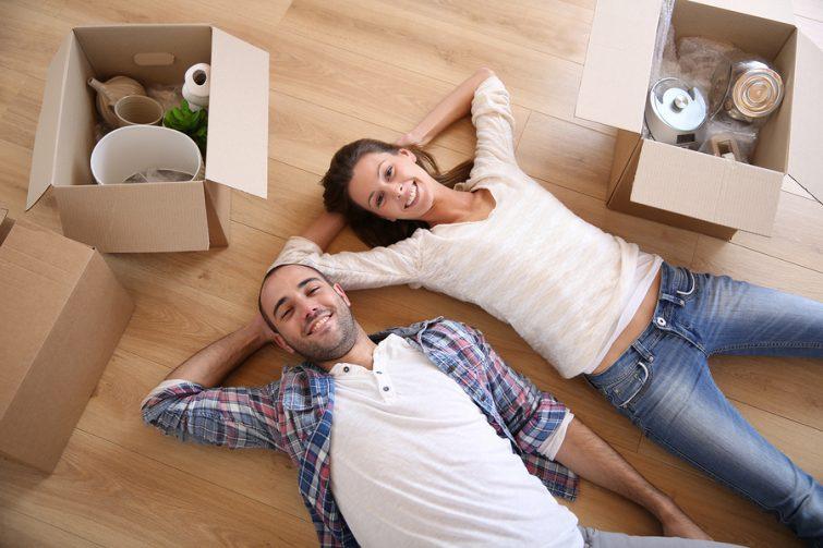 zusammenziehen in erste gemeinsame Wohnung