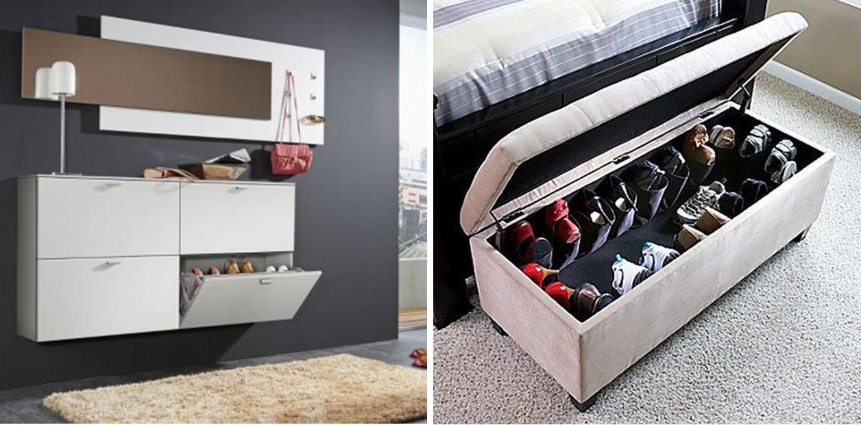 5 ideen f r clevere schuhaufbewahrung. Black Bedroom Furniture Sets. Home Design Ideas