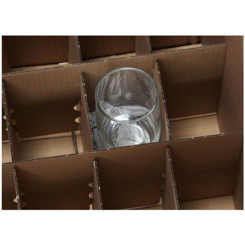 bb verpackungen gl serkartons 5 st ck mit 15 f chern. Black Bedroom Furniture Sets. Home Design Ideas