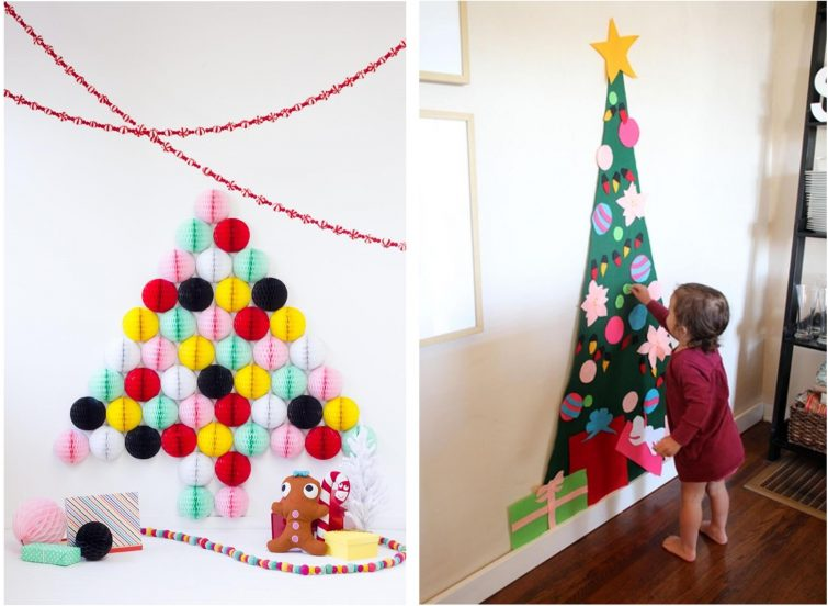 Alternative Zum Weihnachtsbaum alternativer weihnachtsbaum ideen für dein wohnzimmer
