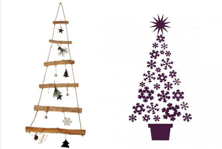 alternativer weihnachtsbaum ideen f r dein wohnzimmer. Black Bedroom Furniture Sets. Home Design Ideas