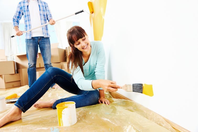 Wandgestaltung mit Farbe: Zimmer streichen mit der richtigen Wandfarbe