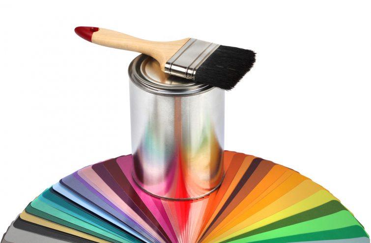 Wandgestaltung Mit Farbe _ Canstockphoto8516625