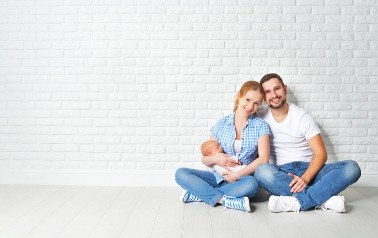 Umzug mit Neugeborenem